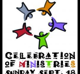 Celebration of Ministries